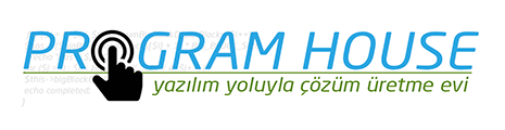 Web Tasarım – 0(312) 230 8899 Program House  Logo